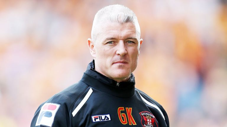 Graham Kavanagh: Carlisle boss has been sacked