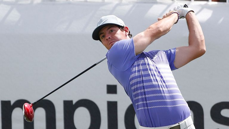 Rory McIlroy: Share of lead