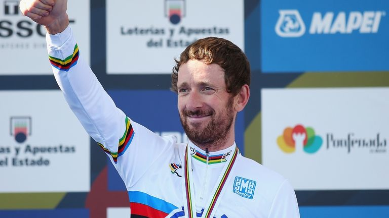 Sir Bradley Wiggins: Named alongside Chris Froome as part of the road race line-up