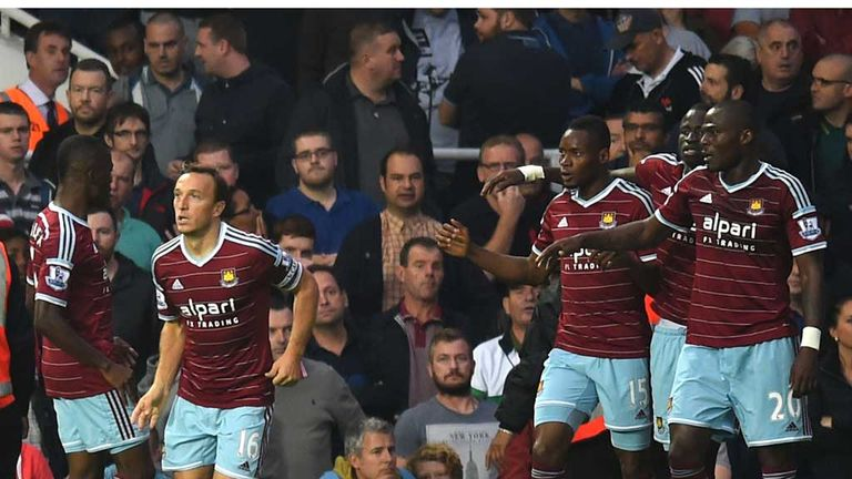 West Ham overpowered Liverpool with a 3-1 win at Upton Park