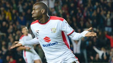 Benik Afobe: Joined Wolves on permanent deal