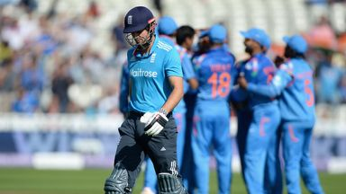 Alastair Cook: Dismissed for just nine as England made a disappointing start at Edgbaston