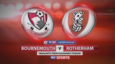 Bournemouth 1-1 Rotherham