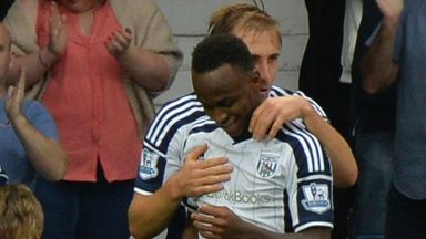 Saido Berahino: Pushing for an England call-up with his West Brom performances