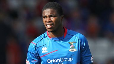 Andre Blackman: Signed for Blackpool