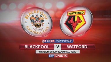 Blackpool 0-1 Watford