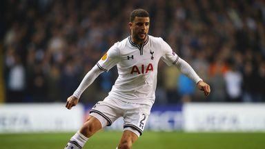 Kyle Walker: Spurs defender back in training
