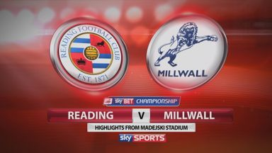 Reading 3-2 Millwall
