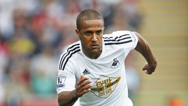 Wayne Routledge: A calf strain looks set to keep him out for a month.