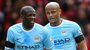 Vincent Kompany: Confident Yaya Toure will soon sign a new Manchester City deal