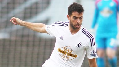 Jordi Amat: Swansea defender has a knee ligament injury