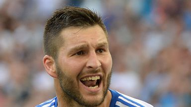 Andre-Pierre Gignac: Happy with Marseille's progress