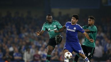 Diego Costa: Chelsea striker came off the bench in 1-1 draw with Schalke