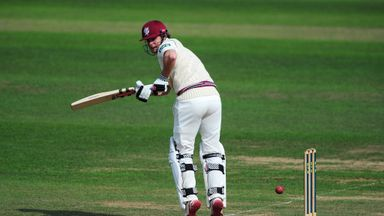 James Hildreth: Somerset batsman struck his first championship hundred of the season