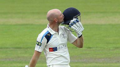 Adam Lyth: made 251 for Yorkshire