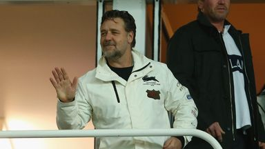 Russell Crowe: Has expressed an interest in Leeds on Twitter