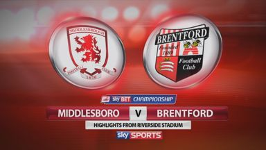 Middlesbrough 4-0 Brentford