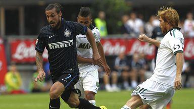 Dani Osvaldo: Hopes to make his loan move to Inter Milan permanent