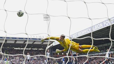 Ben Foster: West Bromwich Albion goalkeeper conceded twice against Everton