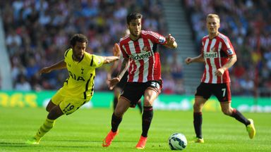 Ricky Alvarez: Sunderland midfielder on the sidelines