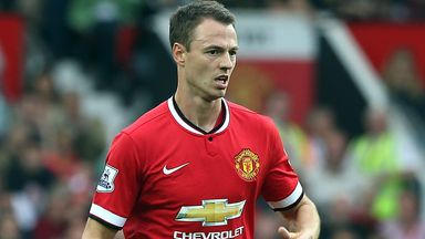 Jonny Evans: Faces spell out of Manchester United