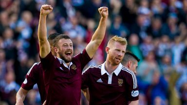 Dale Carrick: Back in contention for Hearts