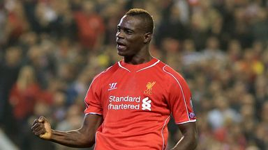 Mario Balotelli: Netted his first Liverpool goal since joining from AC Milan