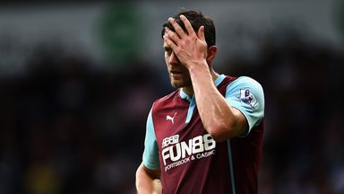 Lukas Jutkiewicz: Yet to hit the net this season for Burnley