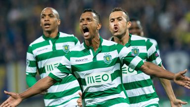 Nani: Has scored nine goals in 25 matches for Sporting this season