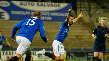 Nicky Clark (right): Injury problem for Rangers star
