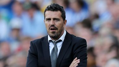 Oscar Garcia has stepped down for health reasons