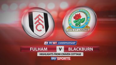 Fulham 0-1 Blackburn