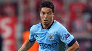 Samir Nasri: Manchester City winger set for spell on sidelines
