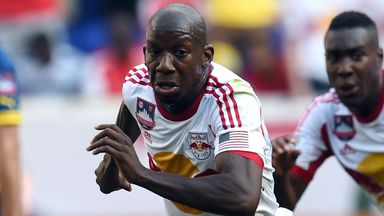 Bradley Wright-Phillips: The Englishman is just two goals away from equalling the MLS record for goals in a season.