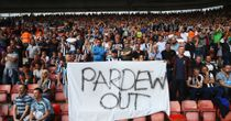 Newcastle fans: Protested at Southampton