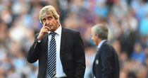 Manuel Pellegrini: Not satisfied with a draw against Chelsea