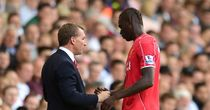 Brendan Rodgers and Mario Balotelli on the touchline