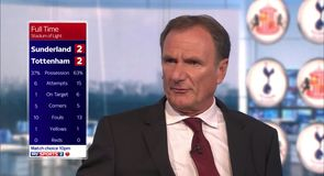 Thompson: Draw a fair result