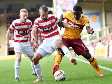 Zaine Francis-Angol challenges Dougie Imrie