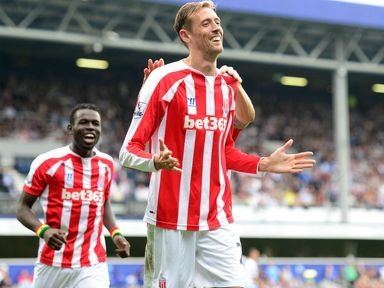 Peter Crouch: On target at Loftus Road