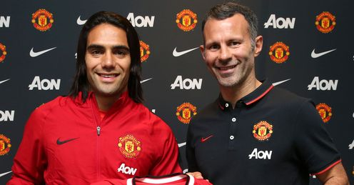 Radamel Falcao: Deal went through late on for United