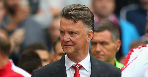 Louis van Gaal: Has changed Manchester United's approach