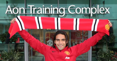 Radamel Falcao: Signed on the dotted line for United