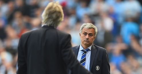 Jose Mourinho: Satisfied with a point against Manchester City
