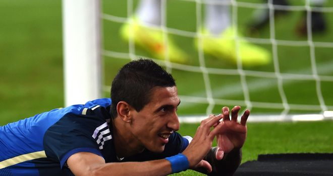 Angel Di Maria: Star of the show as Argentina beat Germany
