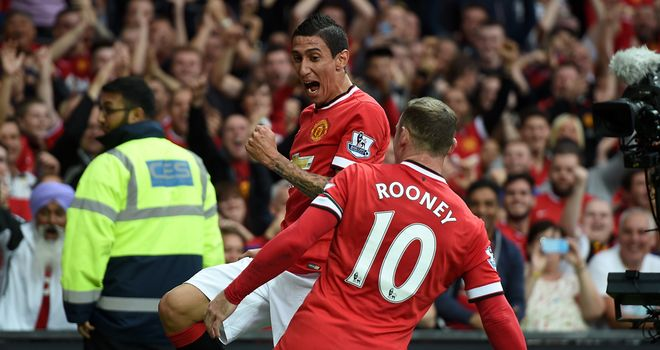 Angel di Maria: Scored one and was involved in another two