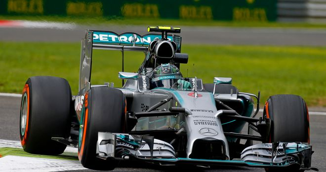 Nico Rosberg: Set the pace in Practice Two