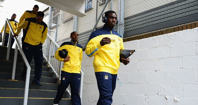 Micah Richards: Was not in Manchester City's squad for the season