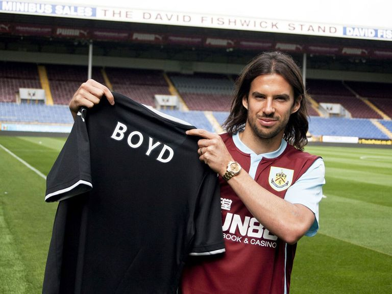 George Boyd: Burnley move