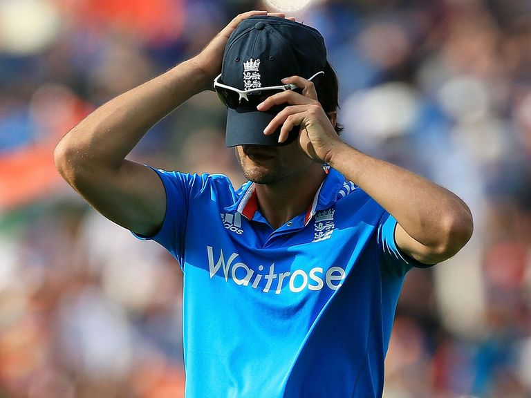 Alastair Cook: Under pressure